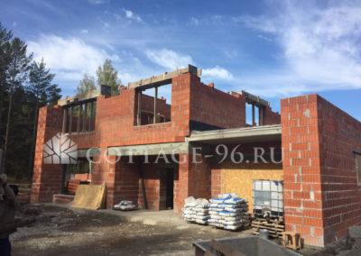 Ведется строительство дома в кп «Заповедник», парк «Сокол»