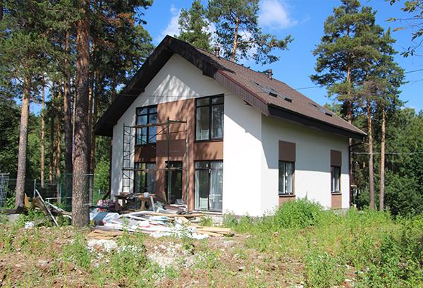 Построен дом в ЖСК «Рудный»