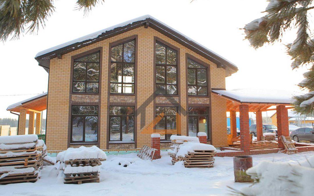 По нашему проекту построен дом в КП «Клевер»