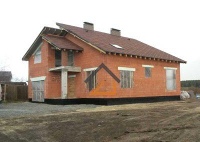 Построена коробка дома в пос. Бобровский