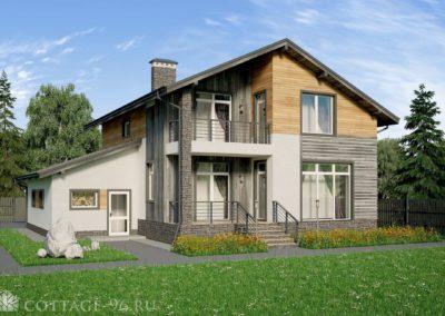 Готовый проект дома 200 кв. м. из газоблоков 200 кв. м. — 28 000 рублей