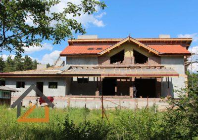 По нашему проекту продолжается строительство дома в Старопышминске