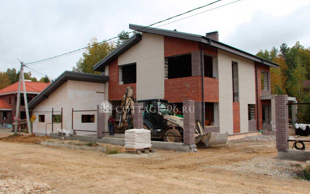 Построена коробка дома в КП «Европа-Азия»